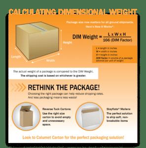 Dim Weight