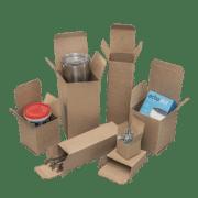 """Reverse Tuck Cartons – 36 pt """"Heavy Duty"""" Kraft"""